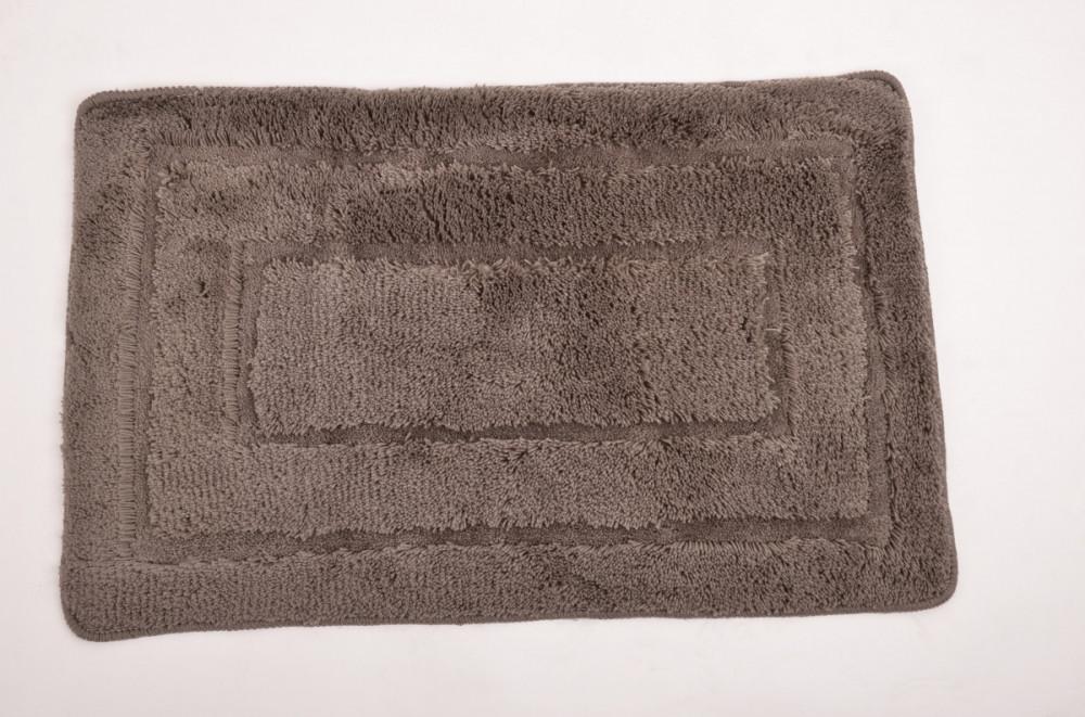 Koupelnová předložka 50x80 cm ACRYL, hnědá č.1