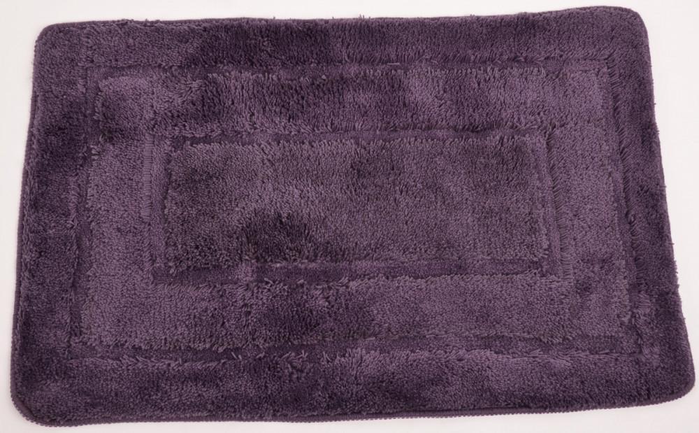 Koupelnová předložka 50x80 cm ACRYL, fialová č.1