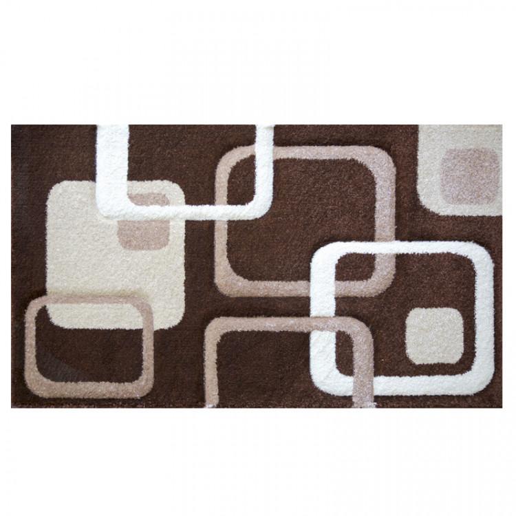 Kusový koberec Rumba 5280 Brown Beige 133x190 č.1