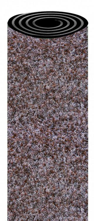 Koberec zátěžový SIDNEY 302 hnědý na gumě, šíře 400 cm č.1