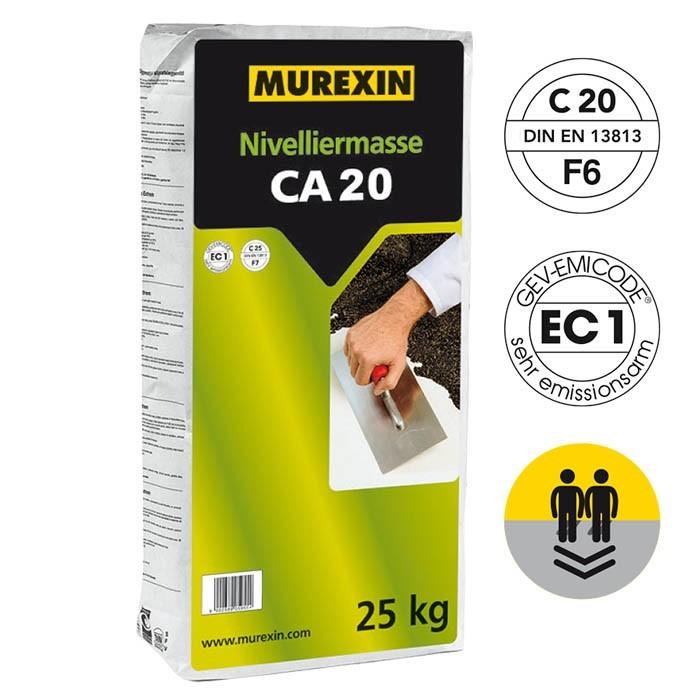 Murexin nivelační hmota na anhydrit CA 20 25 kg č.1