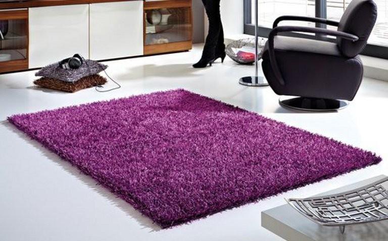 Kusový koberec Ravenna fialová č.1