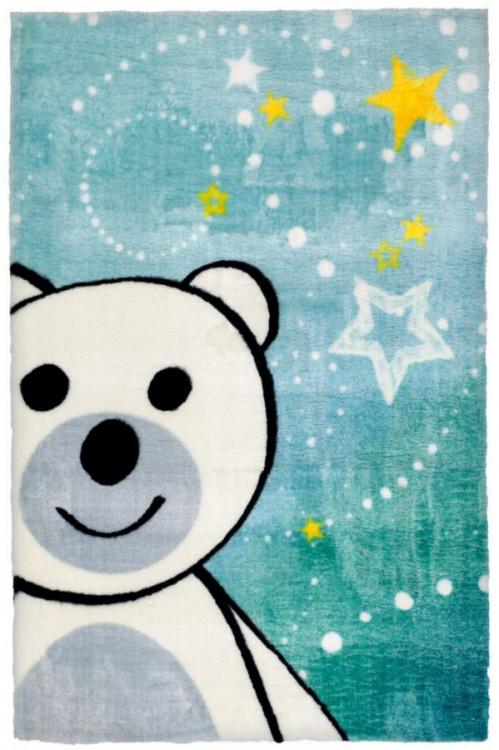 Dětský kusový koberec Lollipop 182 Bear č.1