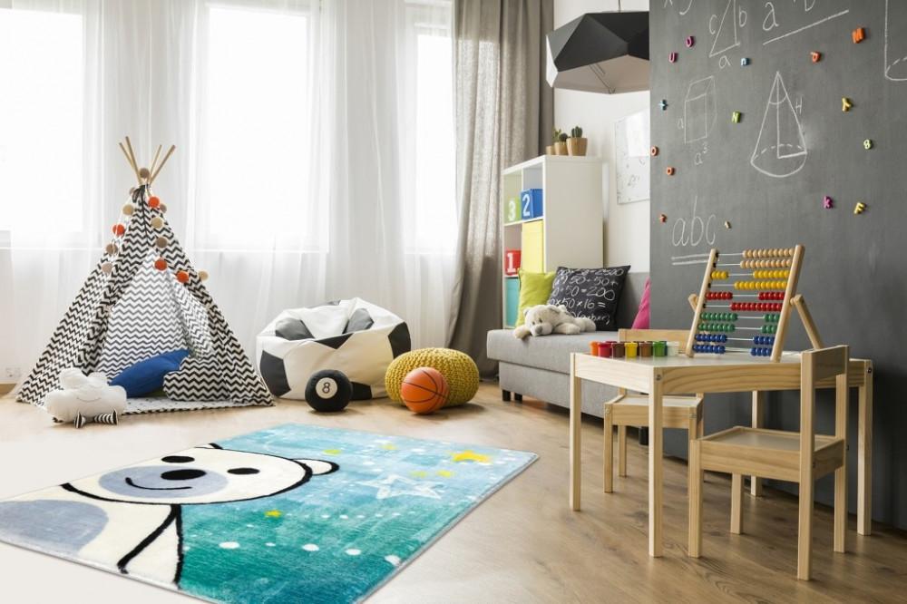 Dětský kusový koberec Lollipop 182 Bear č.4