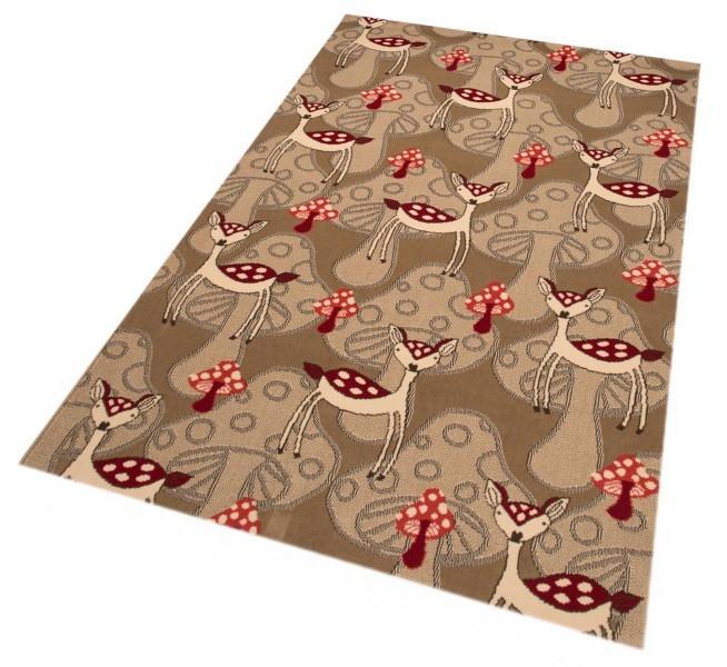 Kusový koberec Bambini 103069 Reh 140x200 cm č.2