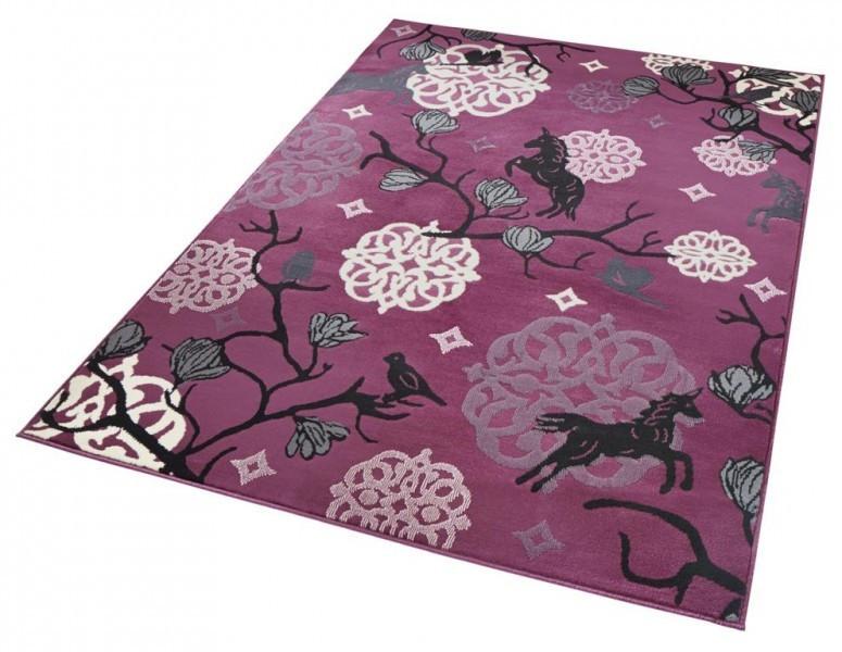 Kusový koberec Bambini 102794 Einhorn 140x200 cm č.3