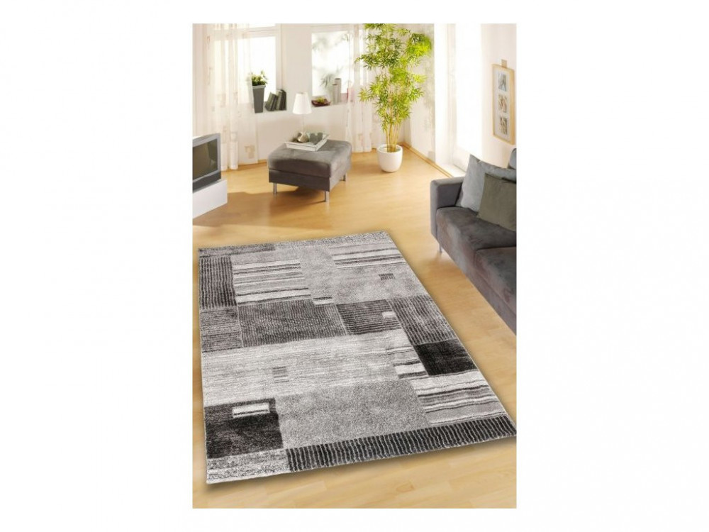 Kusový koberec Loftline K11497-01 Anthracite č.2