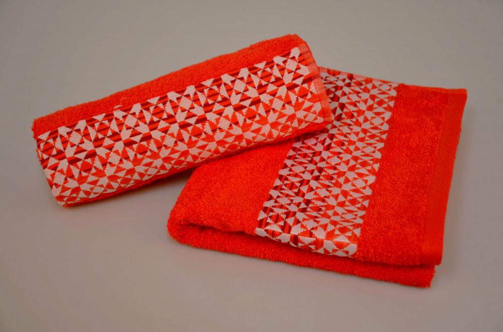 Ručník bavlněný HYPNOS červený 50x90 cm