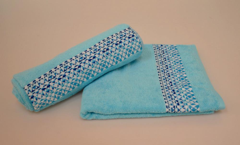 Osuška bavlněná HYPNOS modrá 70x140 cm č.1
