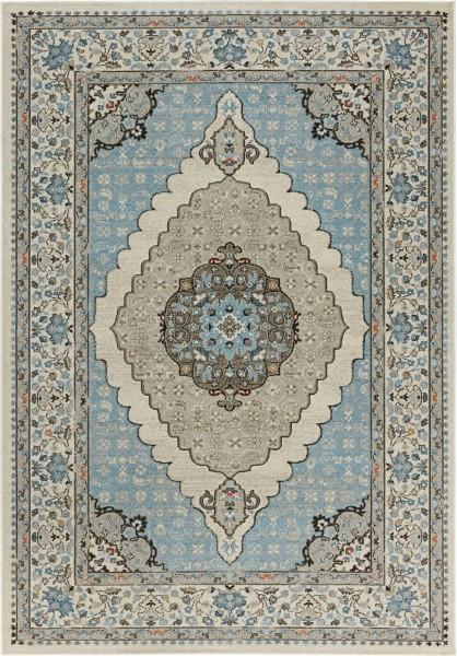 Kusový koberec Classico 102705 blau grau č.2