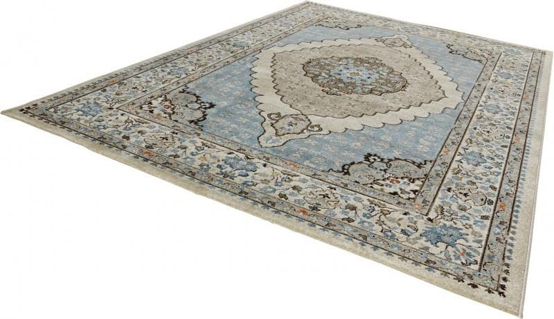 Kusový koberec Classico 102705 blau grau č.3