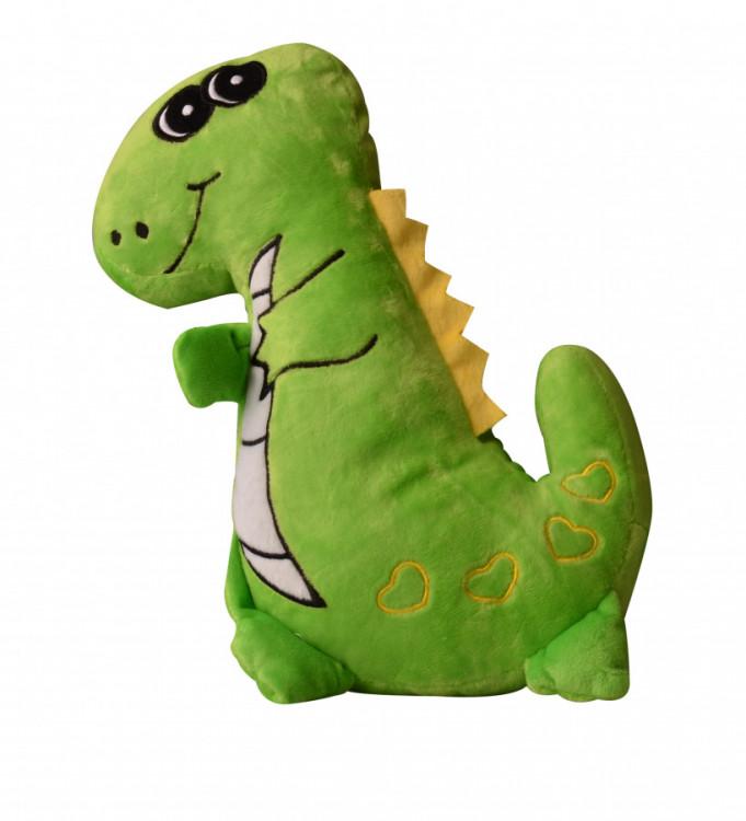 Dekorativní polštářek 3D Dinosaurus 30 cm č.1