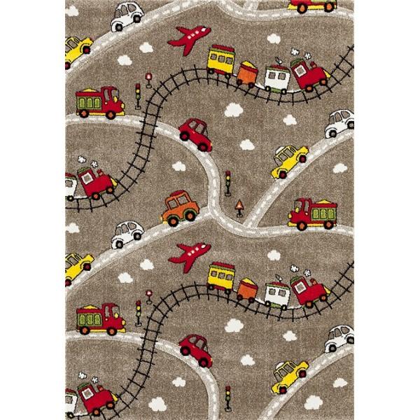 Kusový koberec MOMO 651-05 133x190 cm Coffee č.1