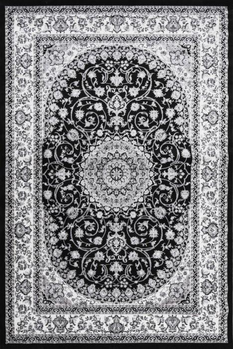 Kusový koberec Silkway X084B black - 80 x 150 cm č.1