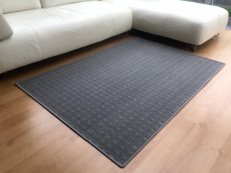 Kusový koberec Valencia šedá - Kulatý průměr 200 cm č.1