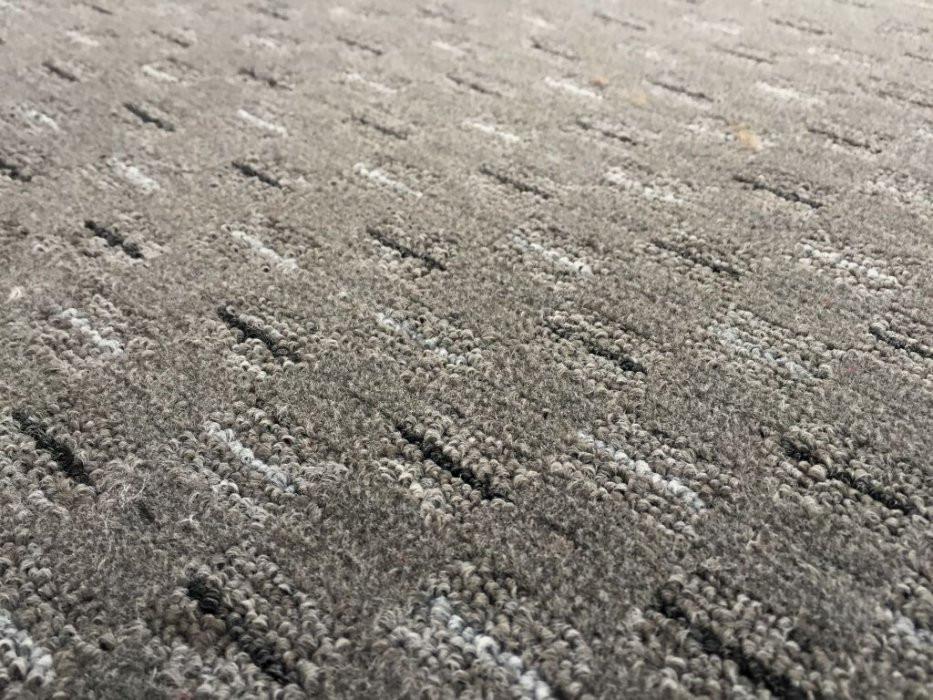 Kusový koberec Valencia šedá - Kulatý průměr 200 cm č.2