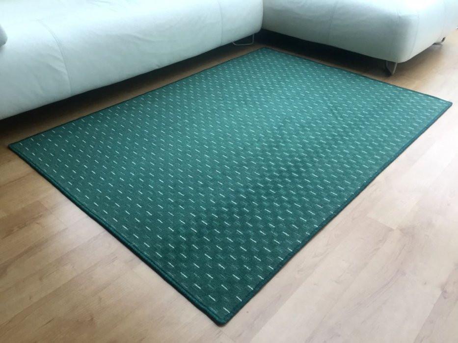 Kusový koberec Valencia zelená - Kulatý průměr 200 cm č.1