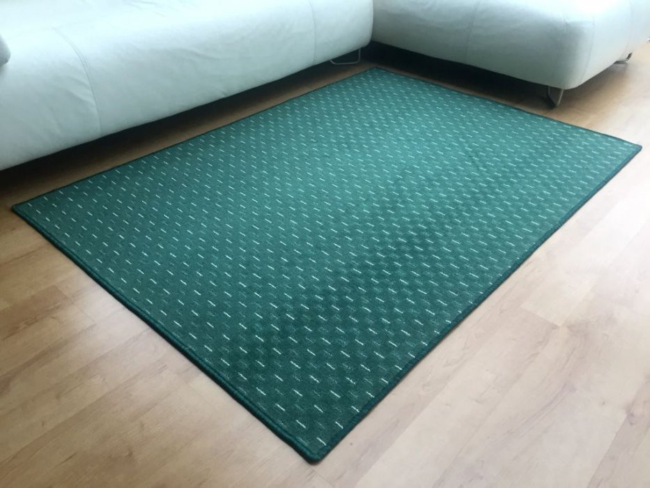 Kusový koberec Valencia zelená - 57 x 120 cm č.1