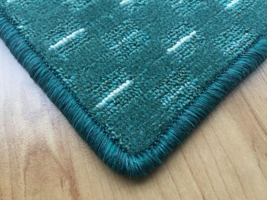 Kusový koberec Valencia zelená - 57 x 120 cm č.2
