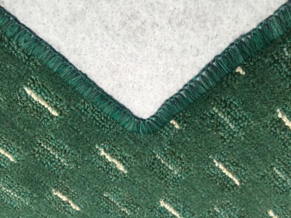 Kusový koberec Valencia zelená - Kulatý průměr 400 cm č.5