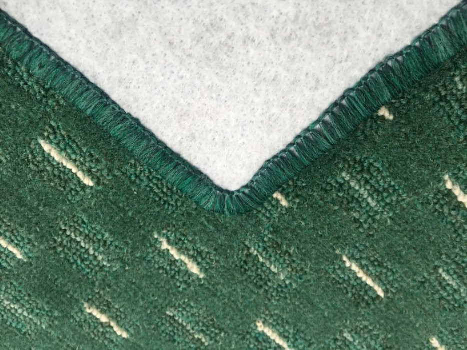 Kusový koberec Valencia zelená - 57 x 120 cm č.5