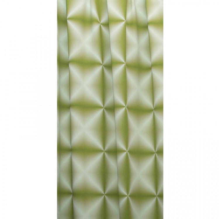 Zatemňovací tkanina šíře 150 cm, black out 3D, zelená č.1