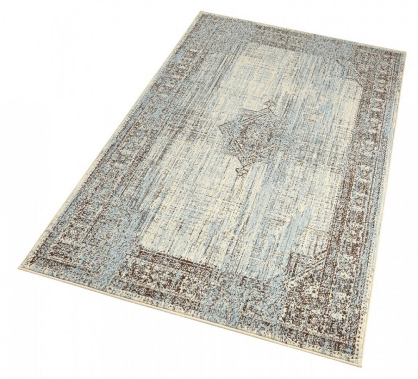Kusový koberec Celebration 103473 Elysium Blue Creme č.2