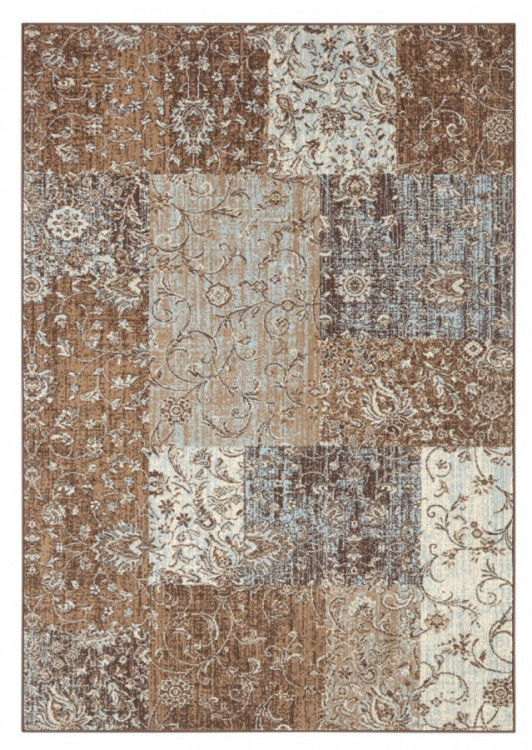 Kusový koberec Celebration 103466 Kirie Brown Blue č.1
