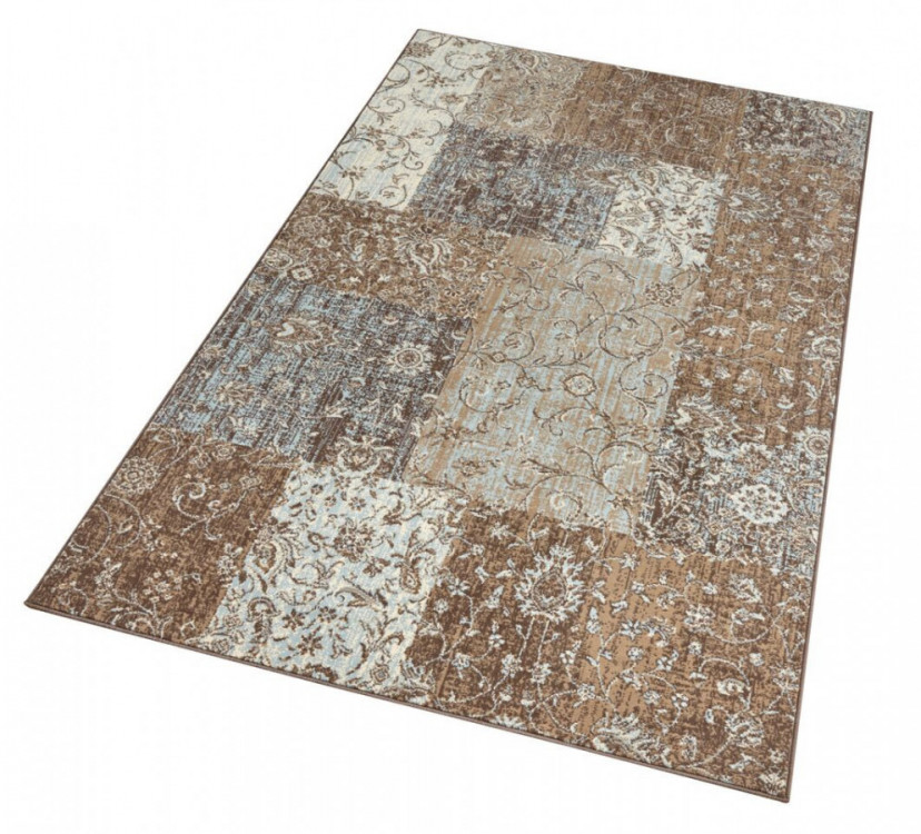 Kusový koberec Celebration 103466 Kirie Brown Blue č.4