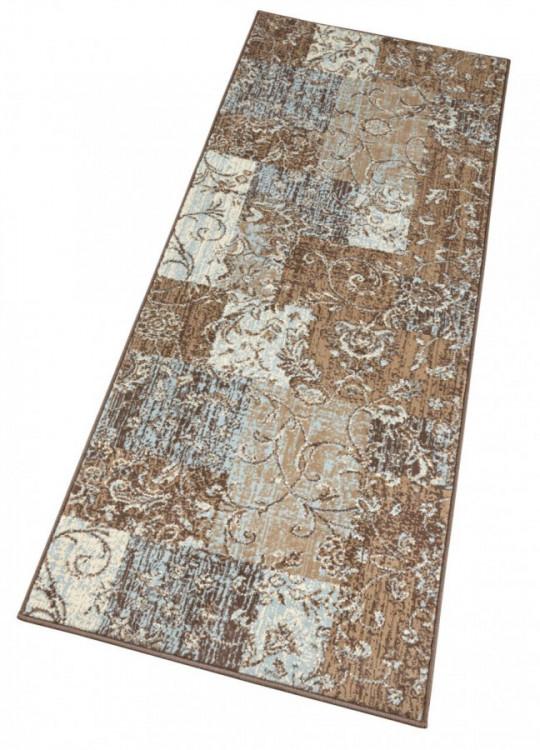 Kusový koberec Celebration 103466 Kirie Brown Blue č.5