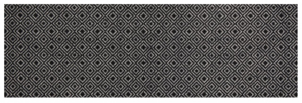 Běhoun Vila 60x180 Cook & Clean 103367 grey black č.1