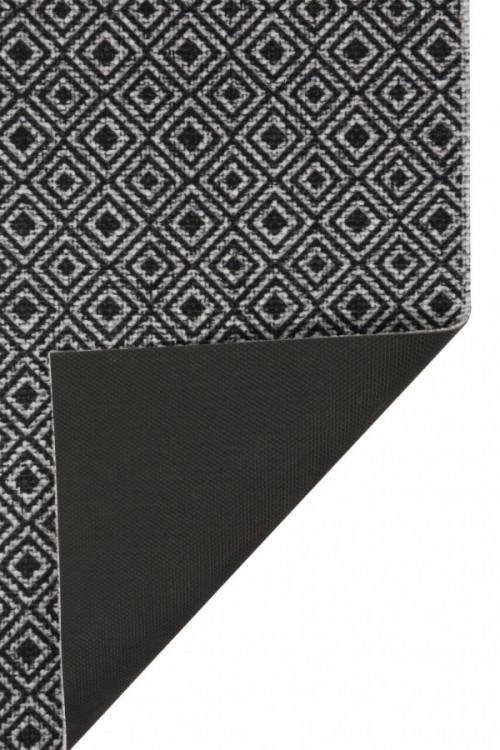Běhoun Vila 60x180 Cook & Clean 103367 grey black č.2