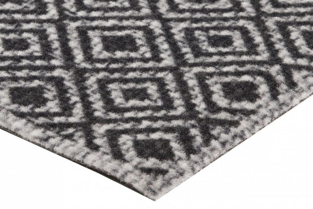 Běhoun Vila 60x180 Cook & Clean 103367 grey black č.3