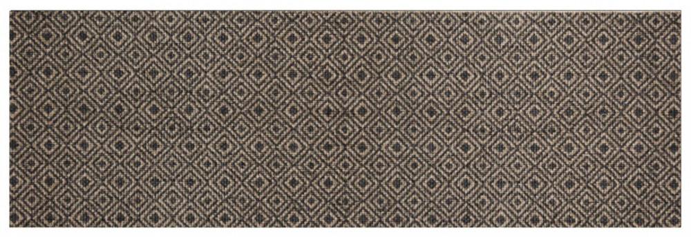 Běhoun Vila 60x180 Cook & Clean 103369 brown black č.1