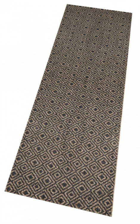 Běhoun Vila 60x180 Cook & Clean 103369 brown black č.4