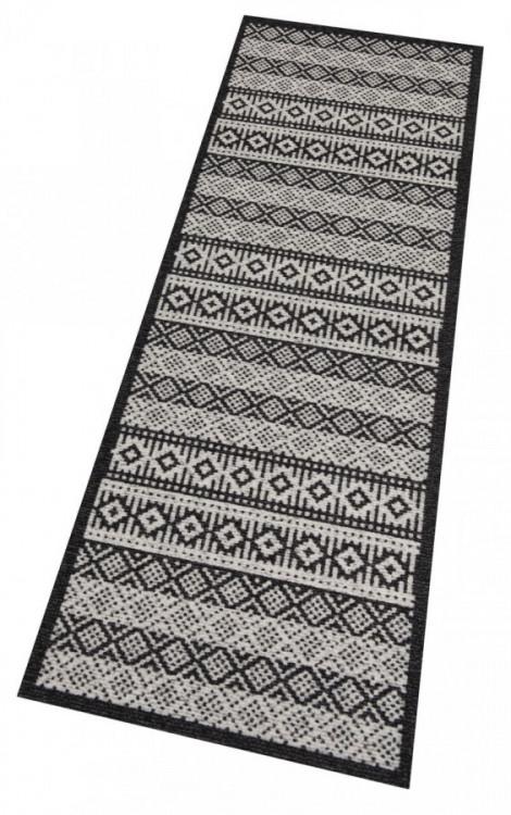 Běhoun Authentic 60x180 Cook & Clean 103368 creme black č.2