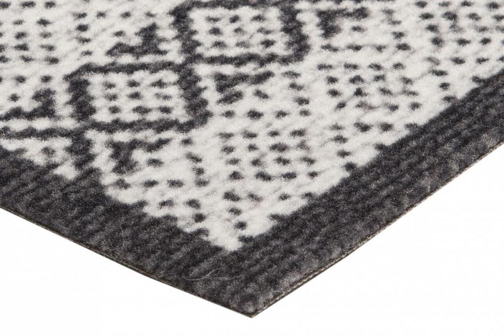 Běhoun Authentic 60x180 Cook & Clean 103368 creme black č.3