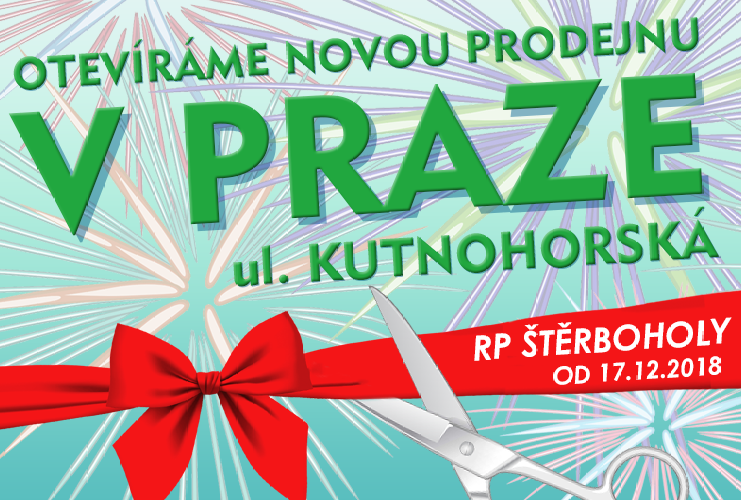 Otevřeli jsme novou prodejnu v Praze!