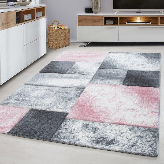 Kusový koberec Hawaii 1710 pink - 120 x 170 cm č.2