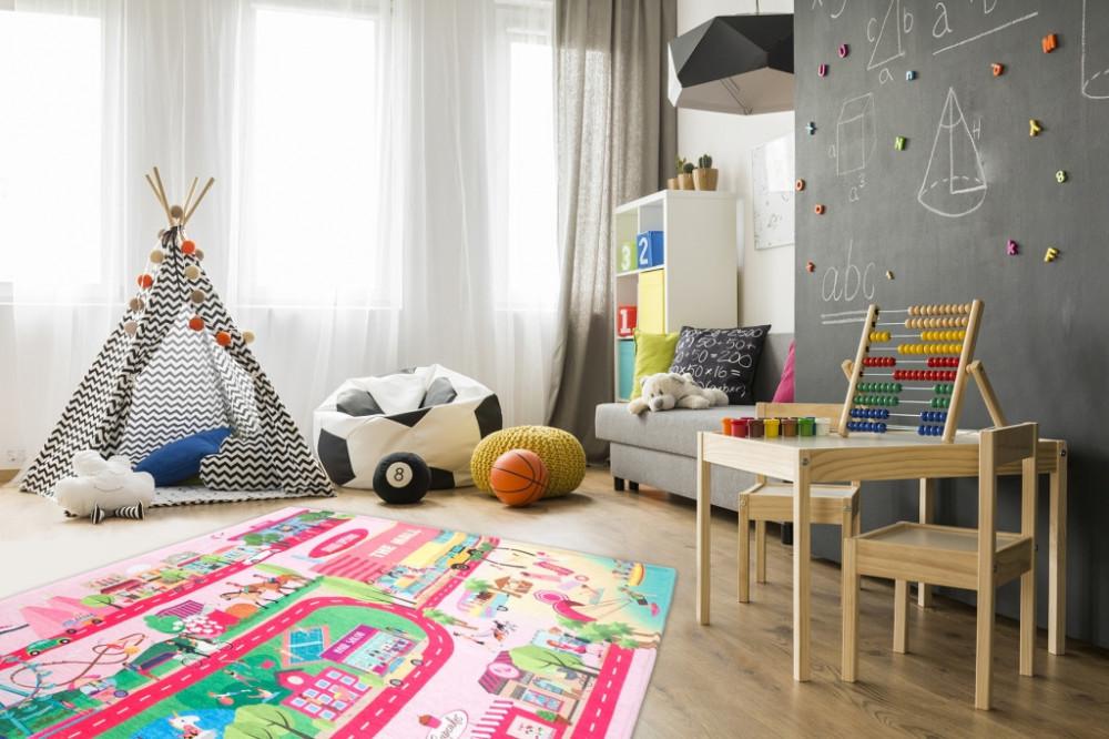 Dětský kusový koberec Torino kids 234 GLAMOUR č.3