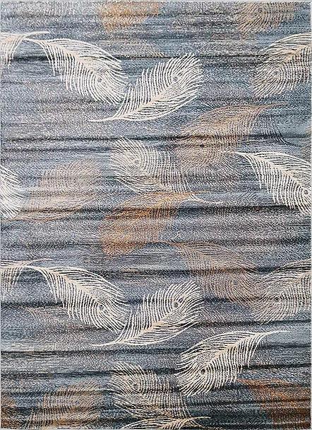 Kusový koberec Polystar 0002 Light Blue č.1