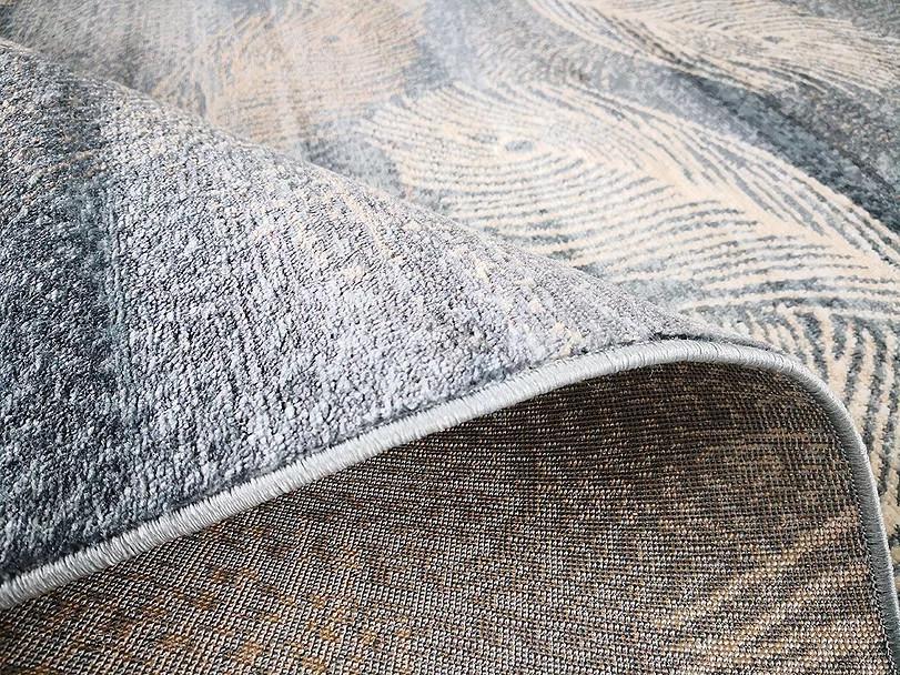 Kusový koberec Polystar 0002 Light Blue č.4