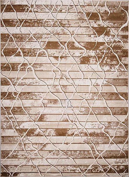 Kusový koberec Polystar 0006 Dark Beige č.1