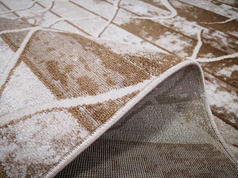 Kusový koberec Polystar 0006 Dark Beige č.3
