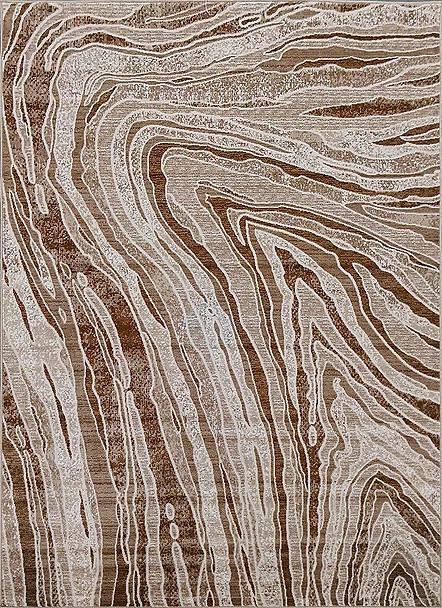 Kusový koberec Polystar 0007 Dark Beige č.1