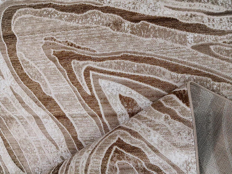 Kusový koberec Polystar 0007 Dark Beige č.3
