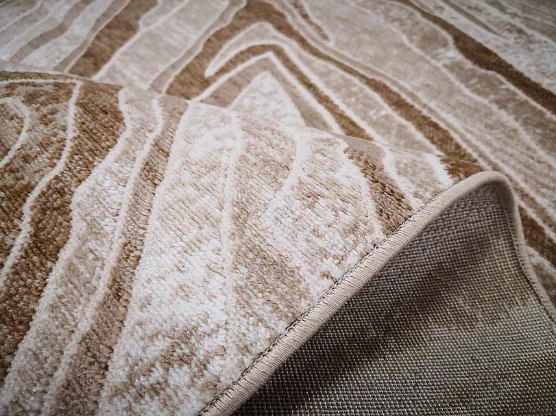 Kusový koberec Polystar 0007 Dark Beige č.4