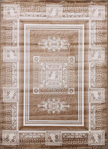 Kusový koberec Polystar 0008 Dark Beige č.1