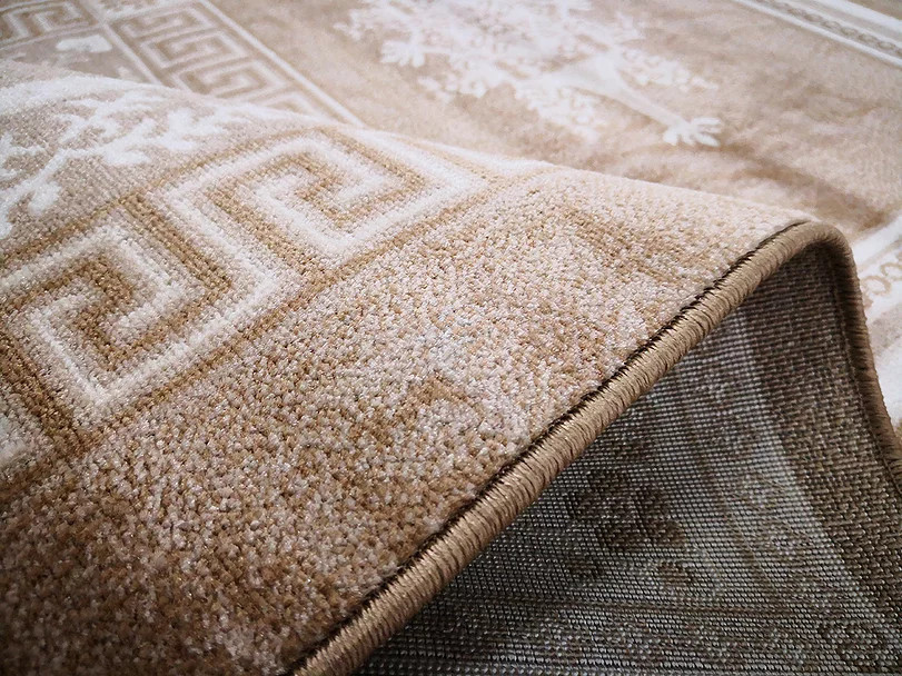 Kusový koberec Polystar 0008 Dark Beige č.3