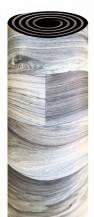 PVC podlaha Sherwood Oak Hickory 716 M (Vesna), šíře 400 cm, hnědá